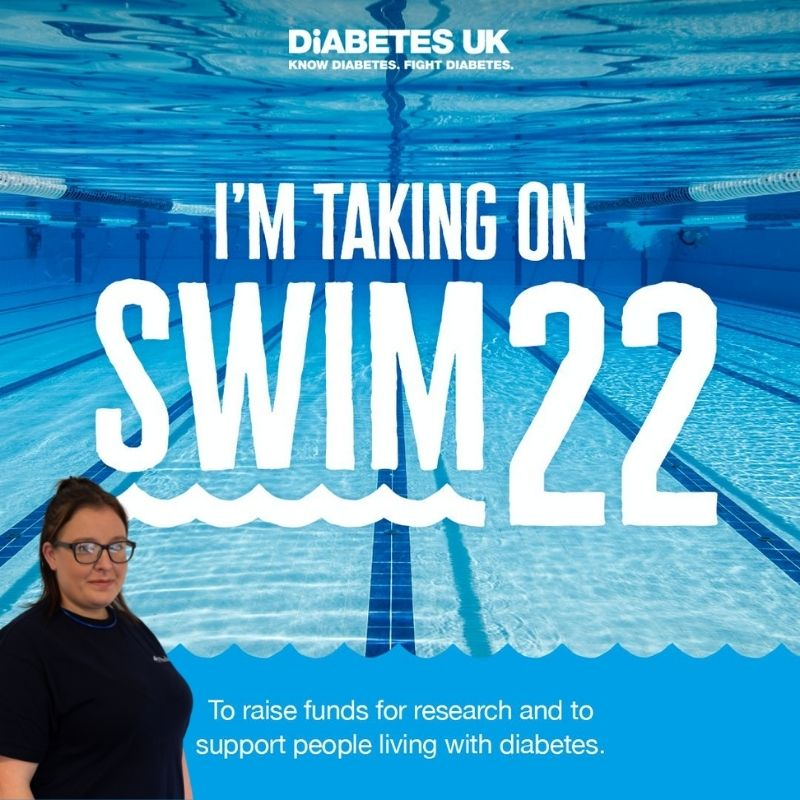 Harriet Wooding takes part in SWIM 22 H V Wooding